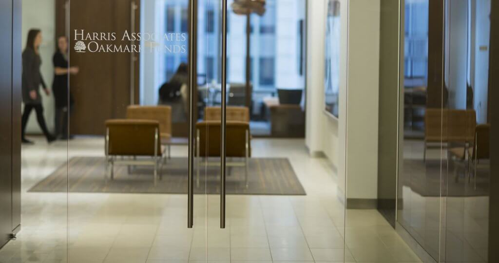 Harris-Oakmark Lobby Glass Door