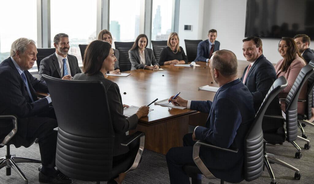 Investment Advisory Portfolio Management Team meeting